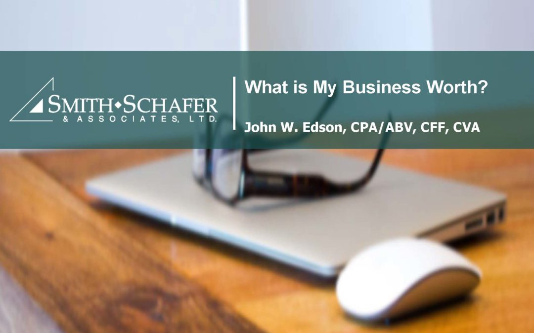 What is My Business Worth? | Part One