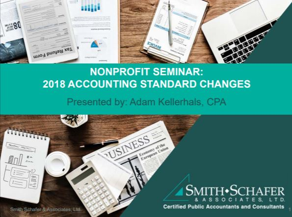 Nonprofit Webinar: 2018 Accounting Standard Changes