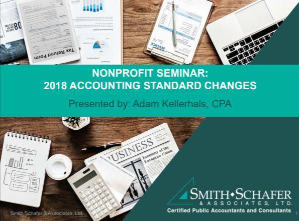 Nonprofit Webinar: 2018 Accounting Standard Changes